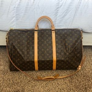 Authentic Louis Vuitton Keepall Bandouliere 60